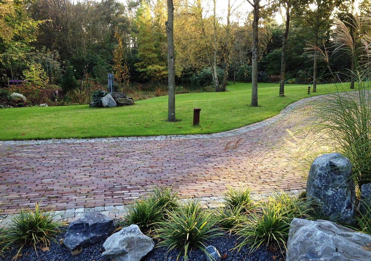 Complete tuin aangelegd
