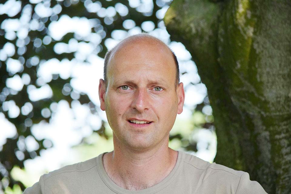 Maarten de Waal, eigenaar De Waal Hoveniers Zuid-Holland & Zeeland